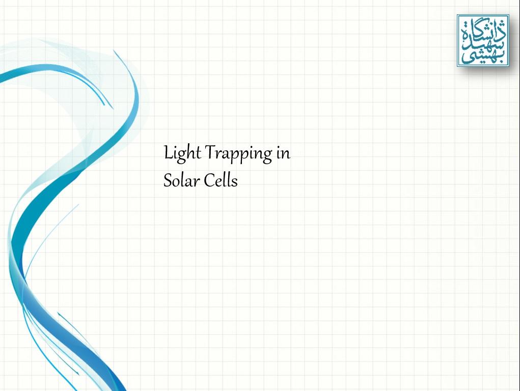 پاورپوینت سلول خورشیدی